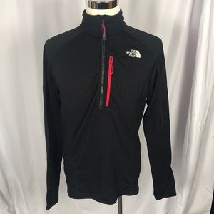 The North Face 1/2 zip athletic pullover